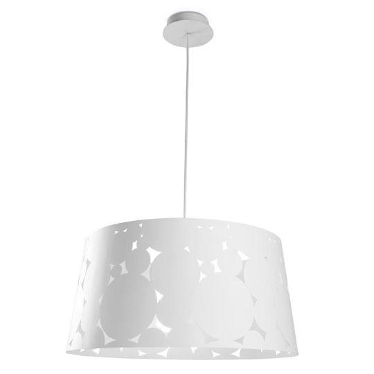 LA CREU Lighting - TRAMA White Painted Steel Pendant - 00-4426-14-14