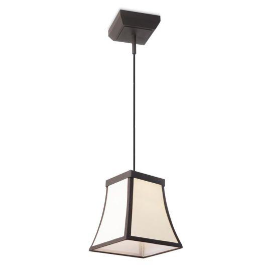 LEDS C4 00-5425-CI-20 Fancy Steel Dark Brown Pendant