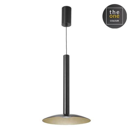 LEDS C4 00-5480-05-F5 Stylus Aluminium/Steel Black/Painted Gold Pendant