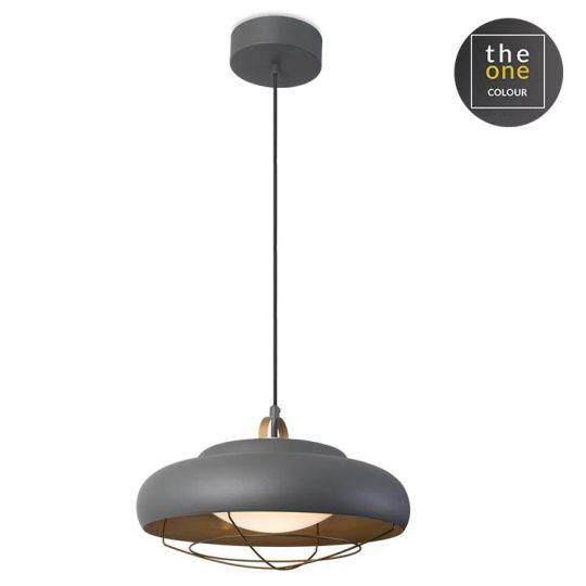 LEDS C4 00-5580-Z5-23 Sugar Aluminium Urban Grey Pendant