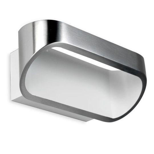 LA CREU Lighting - Wall Fixture, Satin aluminium - 05-0070-S2-14