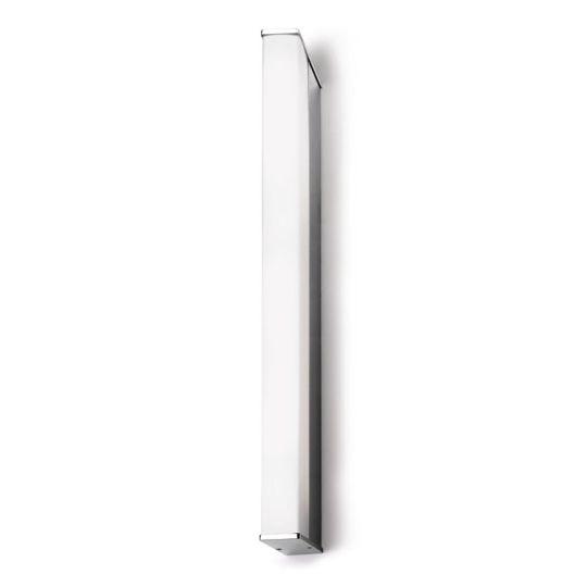 LA CREU Lighting - TOILET Q Bathroom Wall Light, Chrome Finish & Acrylic Diffuser - 05-4377-21-M1