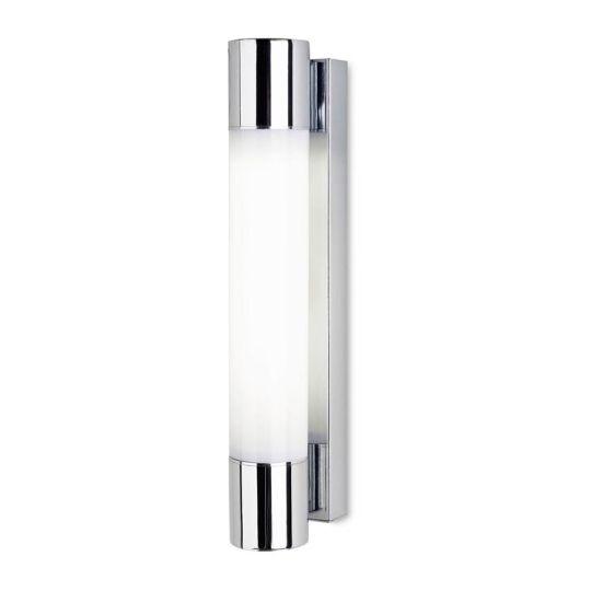 LA CREU Lighting - DRESDE Bathroom Wall Light, Chrome Finish & Acrylic Diffuser - 05-4385-21-M1