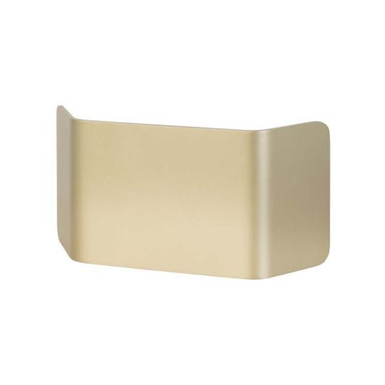 LEDS C4 05-5048-F5-F5V2 Skate Wood Painted Gold Wall Fixture