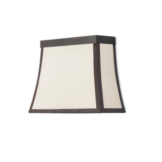 LEDS C4 05-5425-CI-20 Fancy Steel Dark Brown Wall Fixture