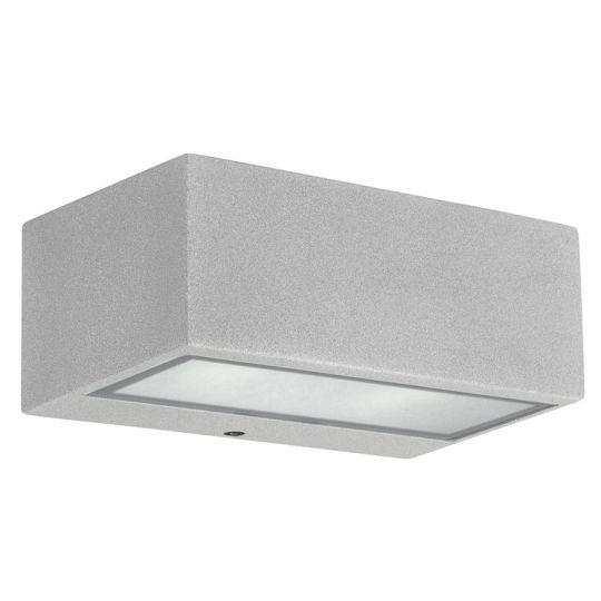 LEDS C4 Lighting - Nemisis Wall Light Grey, Injected Aluminium, Matt Glass - 05-9177-34-B8