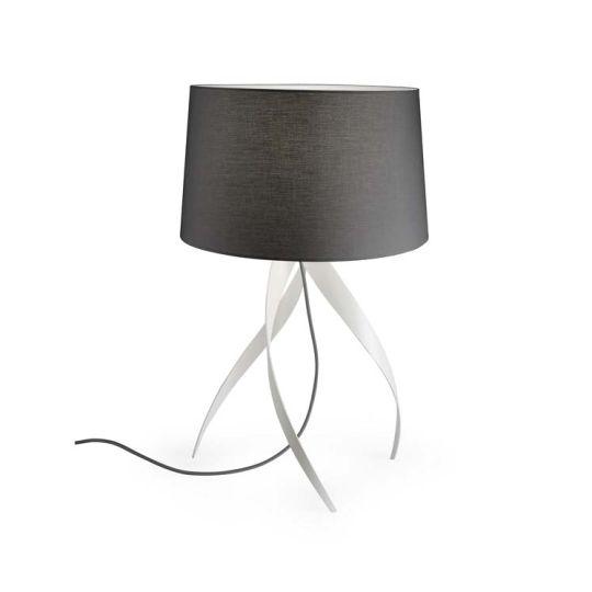 Grok 10-1824-BW-T002 Medusa Aluminium Matt White Table Lamp