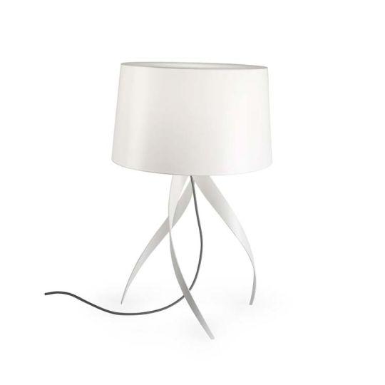 Grok 10-1824-BW-T003 Medusa Aluminium Matt White Table Lamp