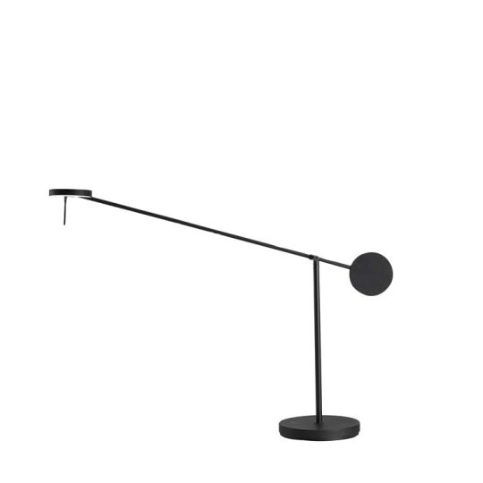 Grok 10-5693-05-05 Invisible Steel/Aluminium Matt Black Table Lamp