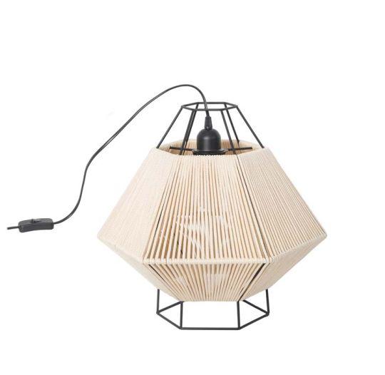 LEDS C4 10-5930-05-20 Legato Steel Matt Black Table Lamp