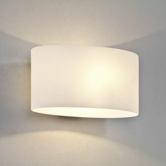 Astro Tokyo White Glass Wall Light 1089001 (0472)