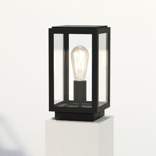 Astro Homefield Pedestal Textured Black Pedestal Light 1095036