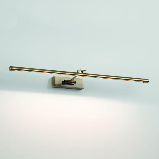Astro Goya 760 LED Brushed Antique Brass Picture Light 1115013 (7941)