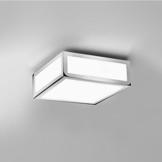 Astro Mashiko 200 Square Polished Chrome Ceiling Light 1121009 (0890)