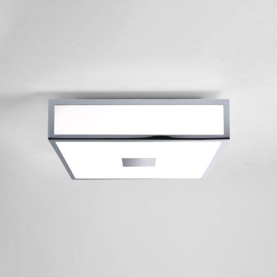 Astro Mashiko 300 Square LED II Polished Chrome Ceiling Light 1121040 (7942)