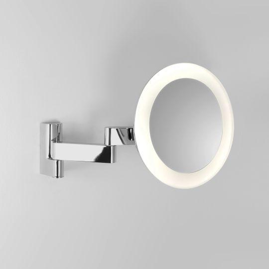 Astro Niimi Round LED Polished Chrome Mirror 1163001 (0760)
