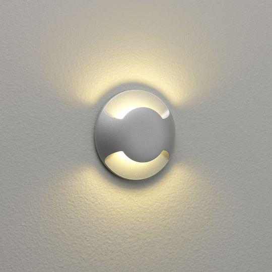 Astro Beam Two LED Matt Painted Silver Marker Light 1202002 (0938)