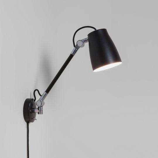 Astro Atelier Grande Matt Black Wall Light 1224016 (7505)