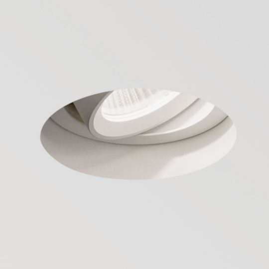 Astro Trimless Round Adjustable LED Textured White Downlight 1248010 (5700)