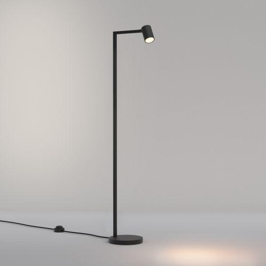 Astro Ascoli Floor Matt Black Floor Light 1286087