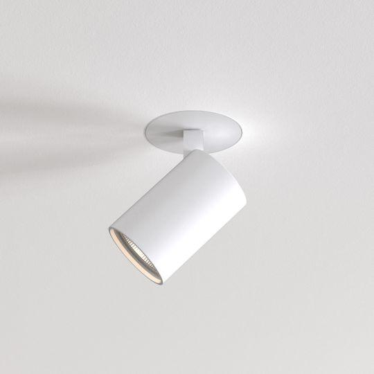 Astro Ascoli Flush Fire-Rated Textured White Spotlight 1286095