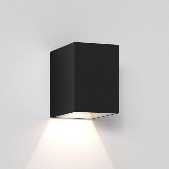 Astro Oslo 100 LED Textured Black Wall Light 1298004 (7109)