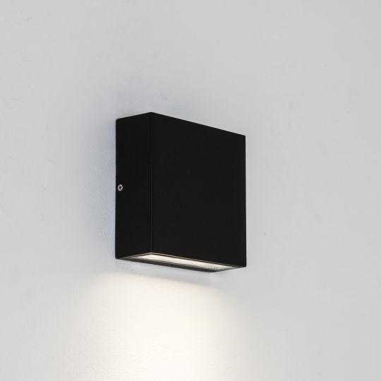 Astro Elis Single LED Textured Black Wall Light 1331001 (7201)