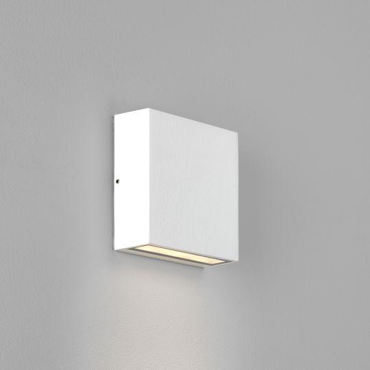 Astro Elis Single LED Textured White Wall Light 1331008 (8116)