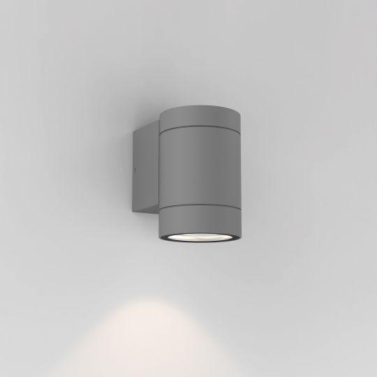 Astro Dartmouth Single GU10 Textured Grey Wall Light 1372010 (8537)