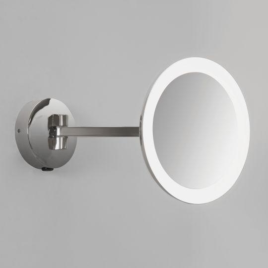 Astro Mascali Round LED Polished Chrome Mirror 1373001 (7627)