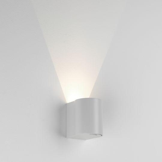 Astro Dunbar 100 LED Textured White Wall Light 1384001 (7943)