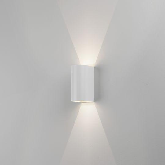 Astro Dunbar 160 LED Textured White Wall Light 1384002 (7944)