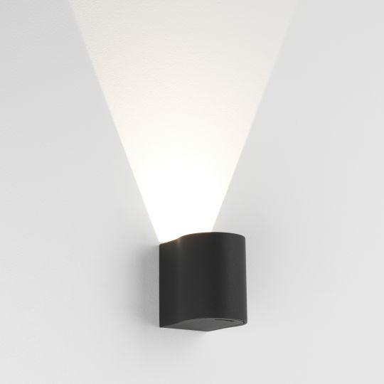 Astro Dunbar 100 LED Textured Black Wall Light 1384003 (7945)