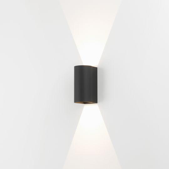 Astro Dunbar 160 LED Textured Black Wall Light 1384004 (7946)