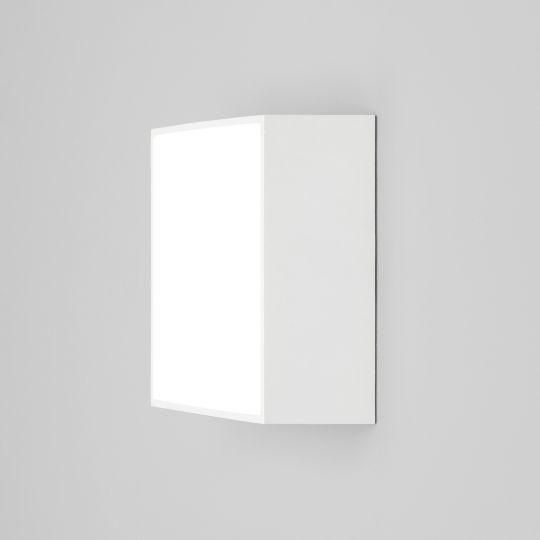 Astro Kea 140 Square Textured White Wall Light 1391005 (8023)