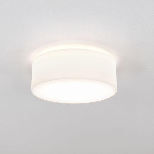 Astro Cambria 380 White Fabric Ceiling Light 1421001