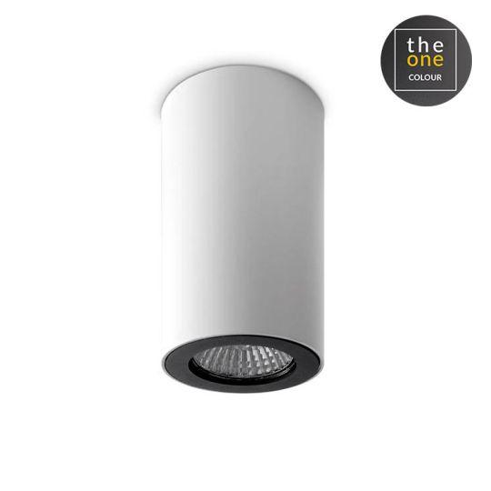 LA CREU Lighting - Ceiling Fixture, Aluminium, White and Black - 15-0073-14-05