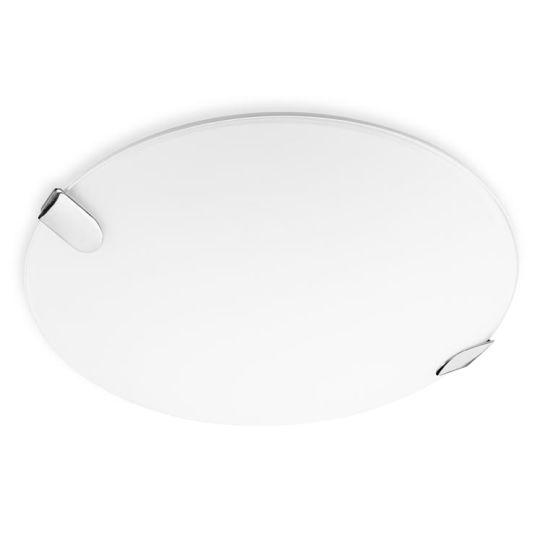 LEDS C4 15-1521-21-E9 Clip Led Steel Chrome Ceiling Light