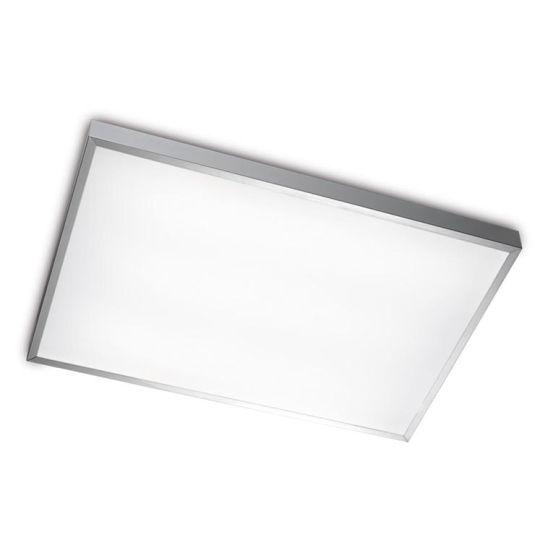LEDS C4 15-2906-S2-M1 Toledo Satin Aluminium Polished Ceiling Light