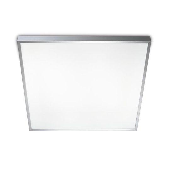 LEDS C4 15-2907-S2-M1 Toledo Satin Aluminium Polished Ceiling Light