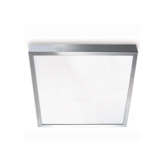 LEDS C4 15-2937-S2-M1V1 Toledo Satin Aluminium Polished Ceiling Light