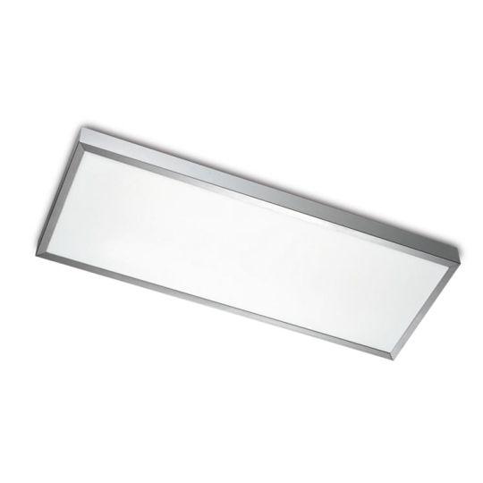 LEDS C4 15-2939-S2-M1V1 Toledo Satin Aluminium Polished Ceiling Light