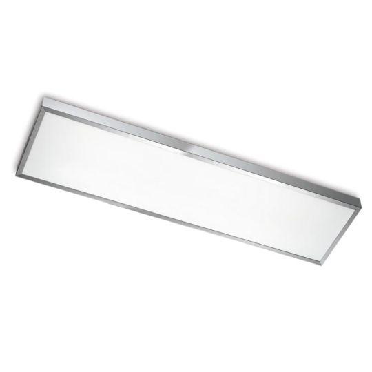 LEDS C4 15-2940-S2-M1V1 Toledo Satin Aluminium Polished Ceiling Light