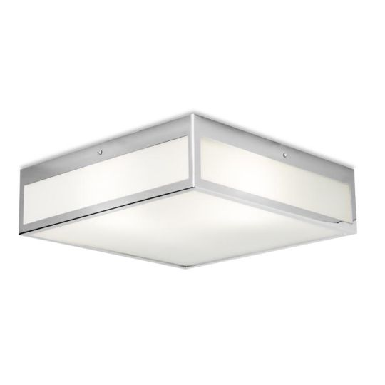 LEDS C4 15-3213-21-B4 Flow Steel Chrome Ceiling Light