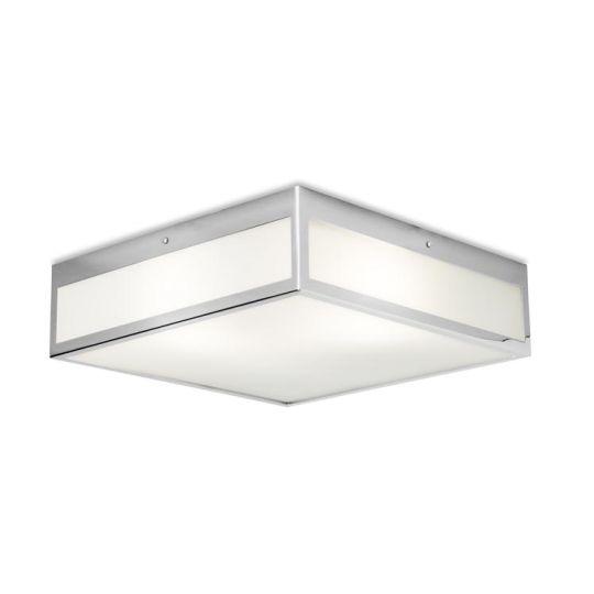 LEDS C4 15-3214-21-B4 Flow Steel Chrome Ceiling Light