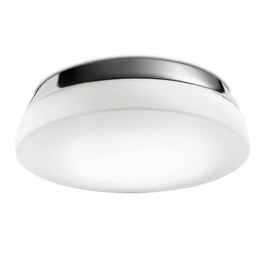 LA CREU Lighting - DEC Ceiling Light, Chrome Finish with Opal Glass Diffuser - 15-4370-21-F9