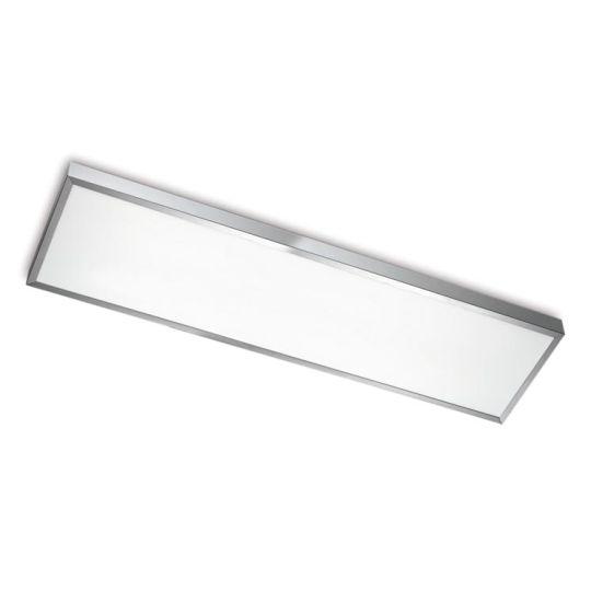 LEDS C4 15-5068-S2-M1V1 Toledo Satin Aluminium Polished Ceiling Light