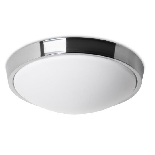LEDS C4 15-5299-21-M1 Bubble Steel Chrome Ceiling Light