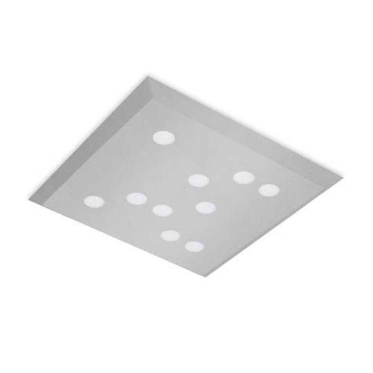 LEDS C4 15-5492-34-34 Wow Steel Grey Ceiling Light
