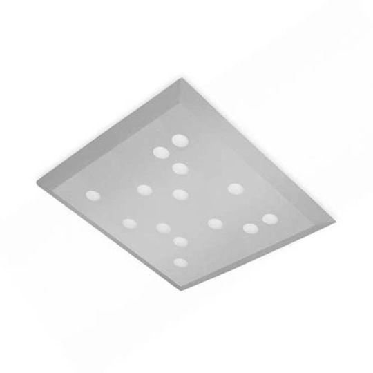 LEDS C4 15-5493-34-34 Wow Steel Grey Ceiling Light